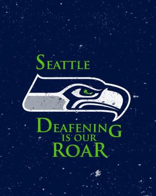 Seattle Seahawks Background for 640x1136