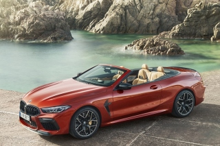 BMW M8 Cabrio Background for Samsung Galaxy Ace 3