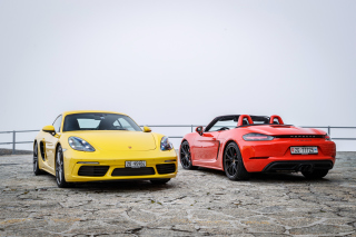 Porsche 718 Background for Android, iPhone and iPad