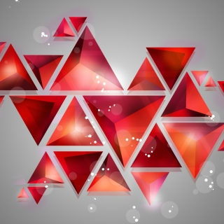 Geometry of red shades Background for LG KP105