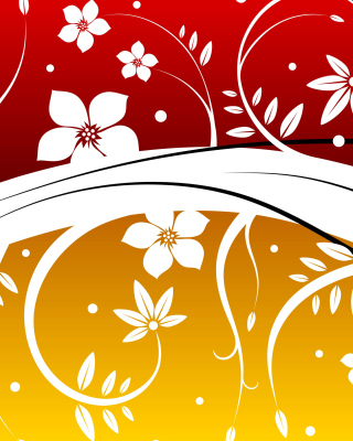 Vector Flowers ClipArt Picture for 240x320