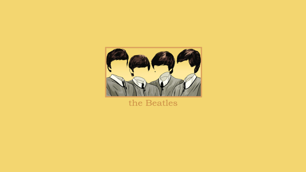 The Beatles wallpaper 1280x720