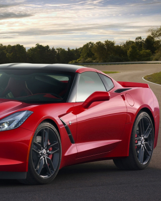 Corvette Stingray 2016 Picture for Nokia C6