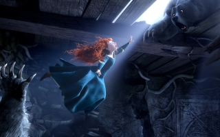 Princess Merida Brave Movie Picture for 1366x768