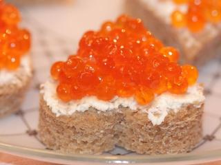 Wild Salmon Caviar para LG 900g