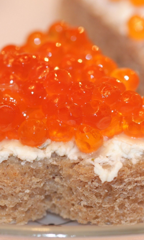 Wild Salmon Caviar per Nokia Lumia 800