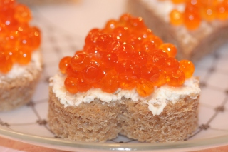 Wild Salmon Caviar Wallpaper for Android, iPhone and iPad