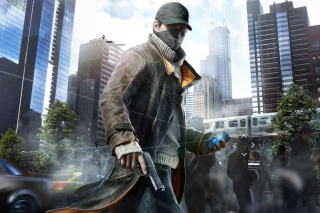 Watch Dogs Aiden Pearce Background for Android, iPhone and iPad
