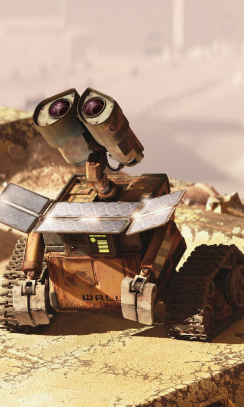 Screenshot №1 pro téma Wall E Looking Up 480x800