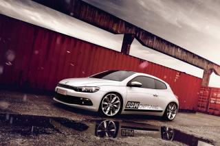Volkswagen Scirocco Tuning Background for Android, iPhone and iPad