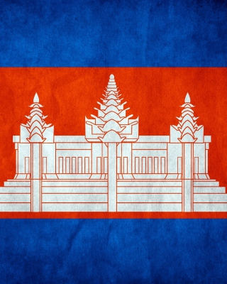 Free Flag of Cambodia Picture for HTC Titan