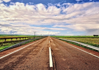 Beautiful Road Wallpaper for Android, iPhone and iPad