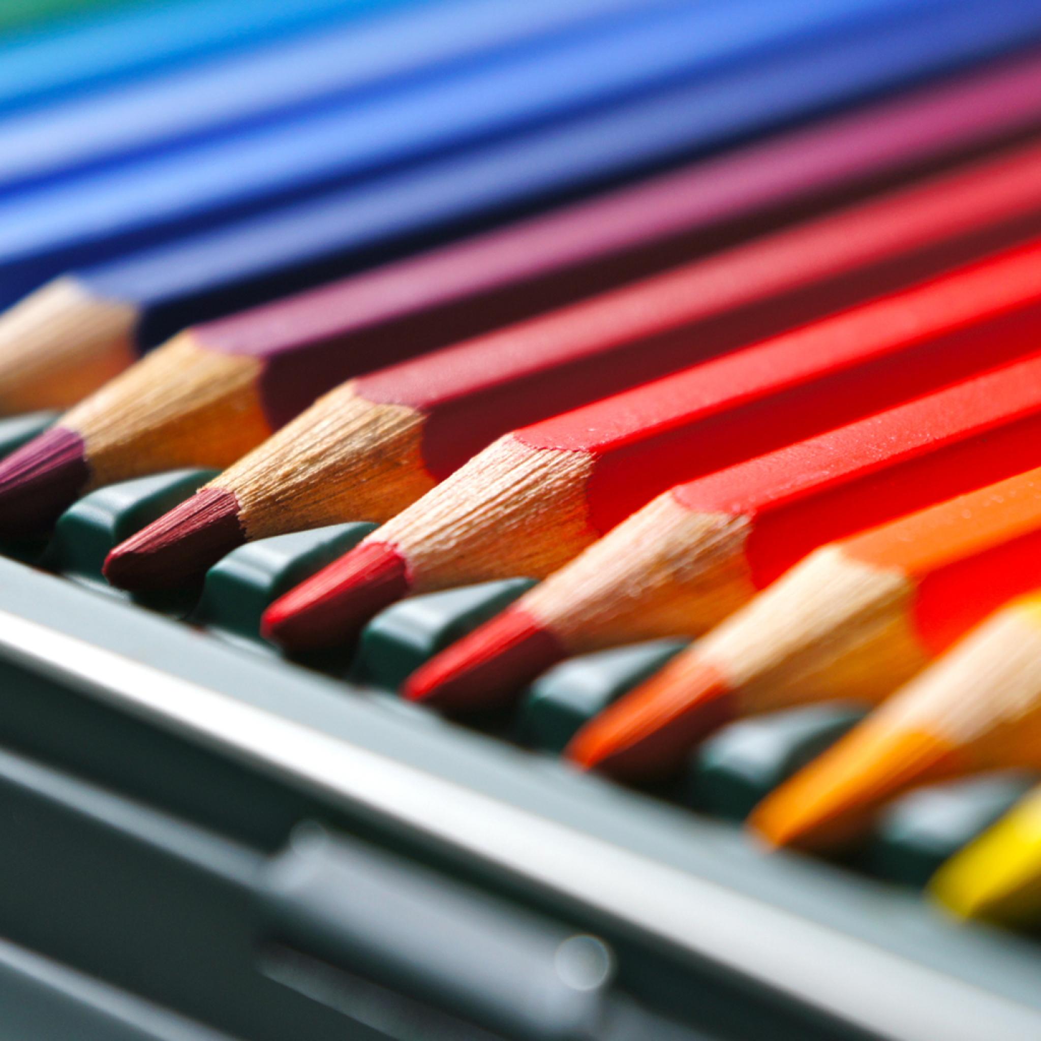 цветные карандаши крупный план color pencils large plan бесплатно