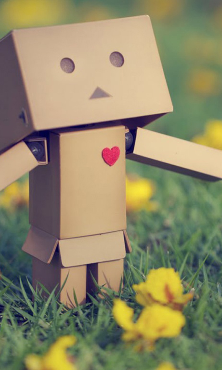 Screenshot №1 pro téma Danbo In Love 768x1280