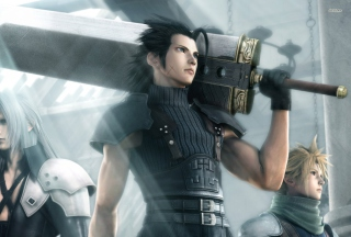 Crisis Core Final Fantasy Vii Game sfondi gratuiti per 1920x1200