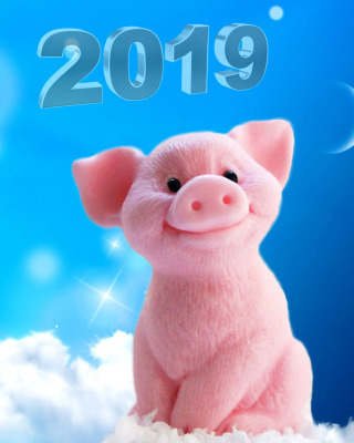 2019 Pig New Year Chinese Calendar Wallpaper for Nokia Lumia 925