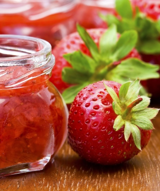 Strawberry Jam Background for HTC Titan
