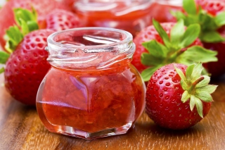 Strawberry Jam Wallpaper for Android, iPhone and iPad