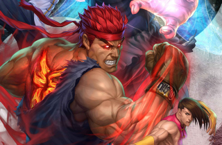 Street Fighter Arcade Game Background for Android, iPhone and iPad
