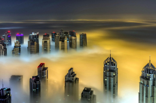 Dubai on Top Wallpaper for Android, iPhone and iPad