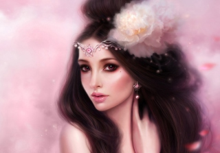 Woman Art Wallpaper for Android, iPhone and iPad