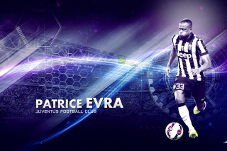 Patrice Evra - Juventus Background for Android, iPhone and iPad