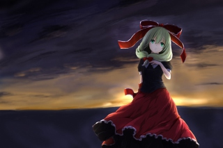 Hina Kagiyama Touhou Wallpaper for Android, iPhone and iPad