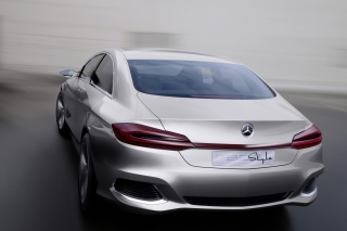 Free Mercedes Benz F800 Concept Picture for Android 480x800