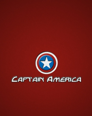 Captain America Shield Background for Nokia Asha 311