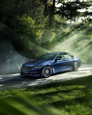 BMW 7 Alpina Wallpaper for HTC Titan