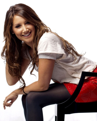 Ashley Tisdale HD Background for 640x960