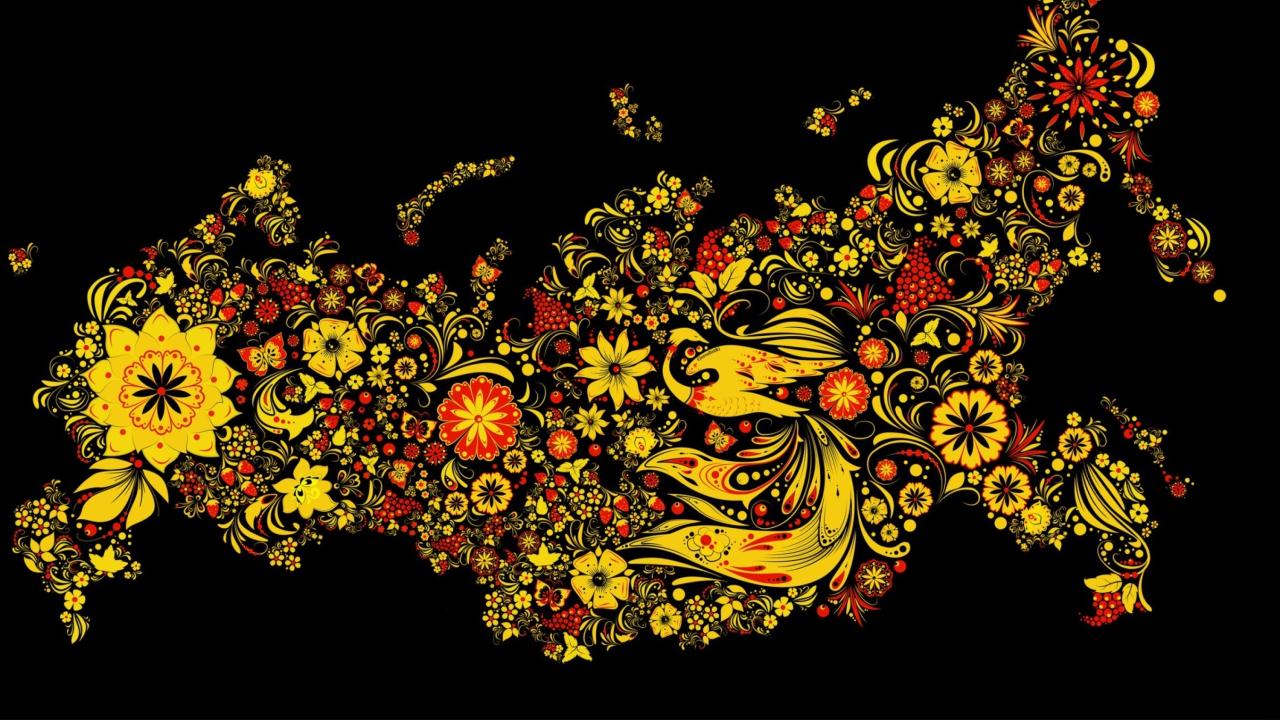 Asian Floral Design