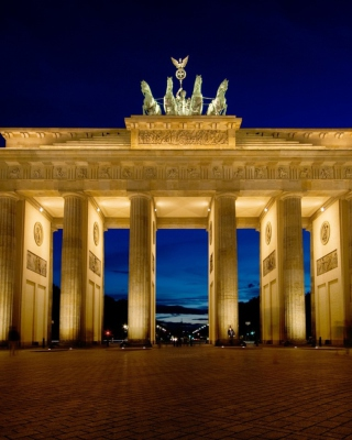 Brandenburg Gate Berlin Background for Nokia X3