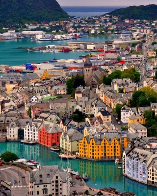 Alesund Wallpaper for Nokia Asha 311