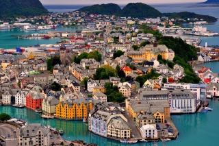 Alesund Wallpaper for Nokia X2-01
