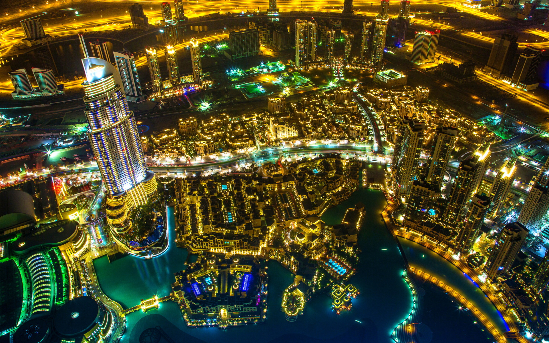 Dubai Top View para Widescreen Desktop PC 1920x1080 Full HD