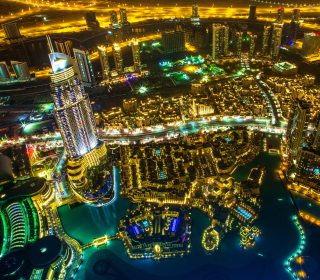 Dubai Top View sfondi gratuiti per iPad mini