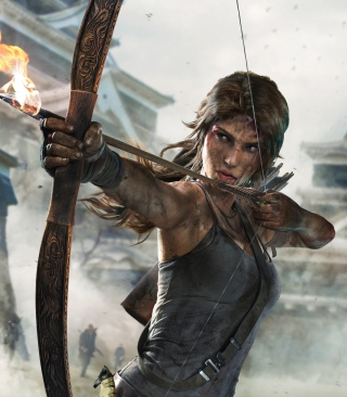 Tomb Raider Definitive Edition Background for Nokia C1-01
