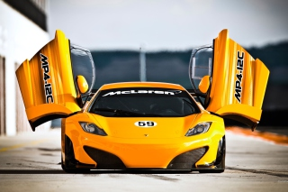 McLaren MP4 12C Background for Android, iPhone and iPad