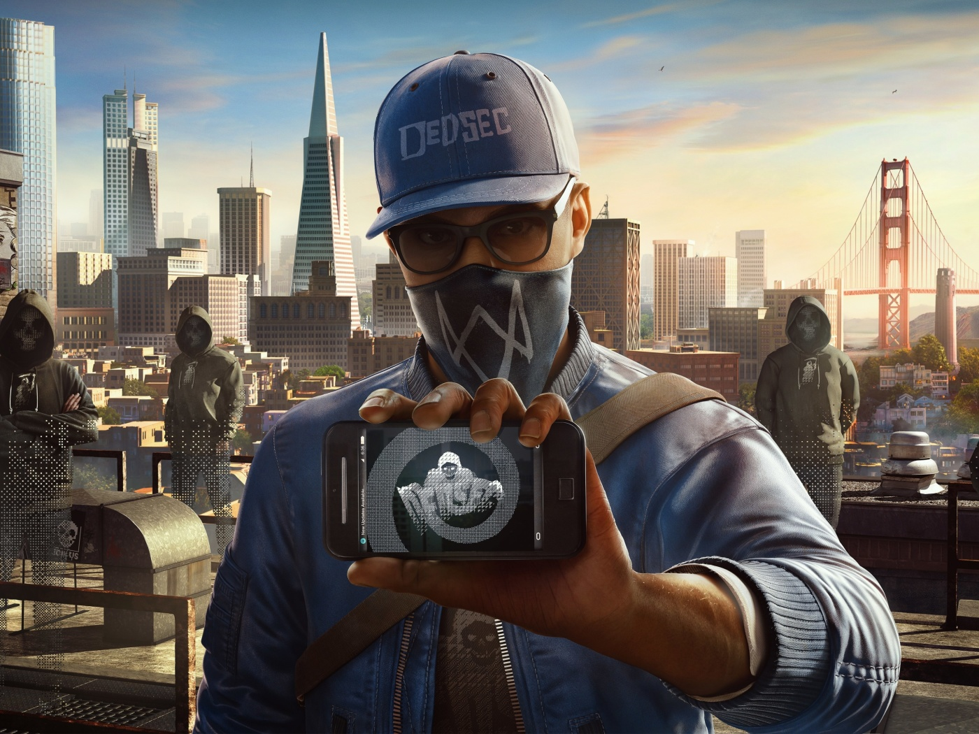 Screenshot №1 pro téma Watch Dogs 2 Dedsec 1400x1050