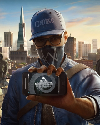 Watch Dogs 2 Dedsec sfondi gratuiti per iPhone 6