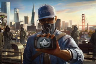 Watch Dogs 2 Dedsec sfondi gratuiti per cellulari Android, iPhone, iPad e desktop