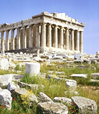 Kostenloses Parthenon Acropolis Athens Greece Wallpaper für iPhone 3G