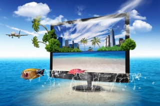Kostenloses Interactive TV Screen Wallpaper für Android, iPhone und iPad