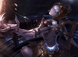 Kostenloses Orianna - League of Legends Wallpaper für 1600x900