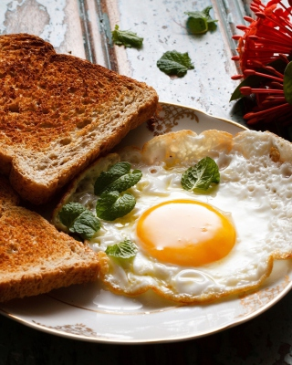 Breakfast eggs and toast sfondi gratuiti per Nokia Lumia 925