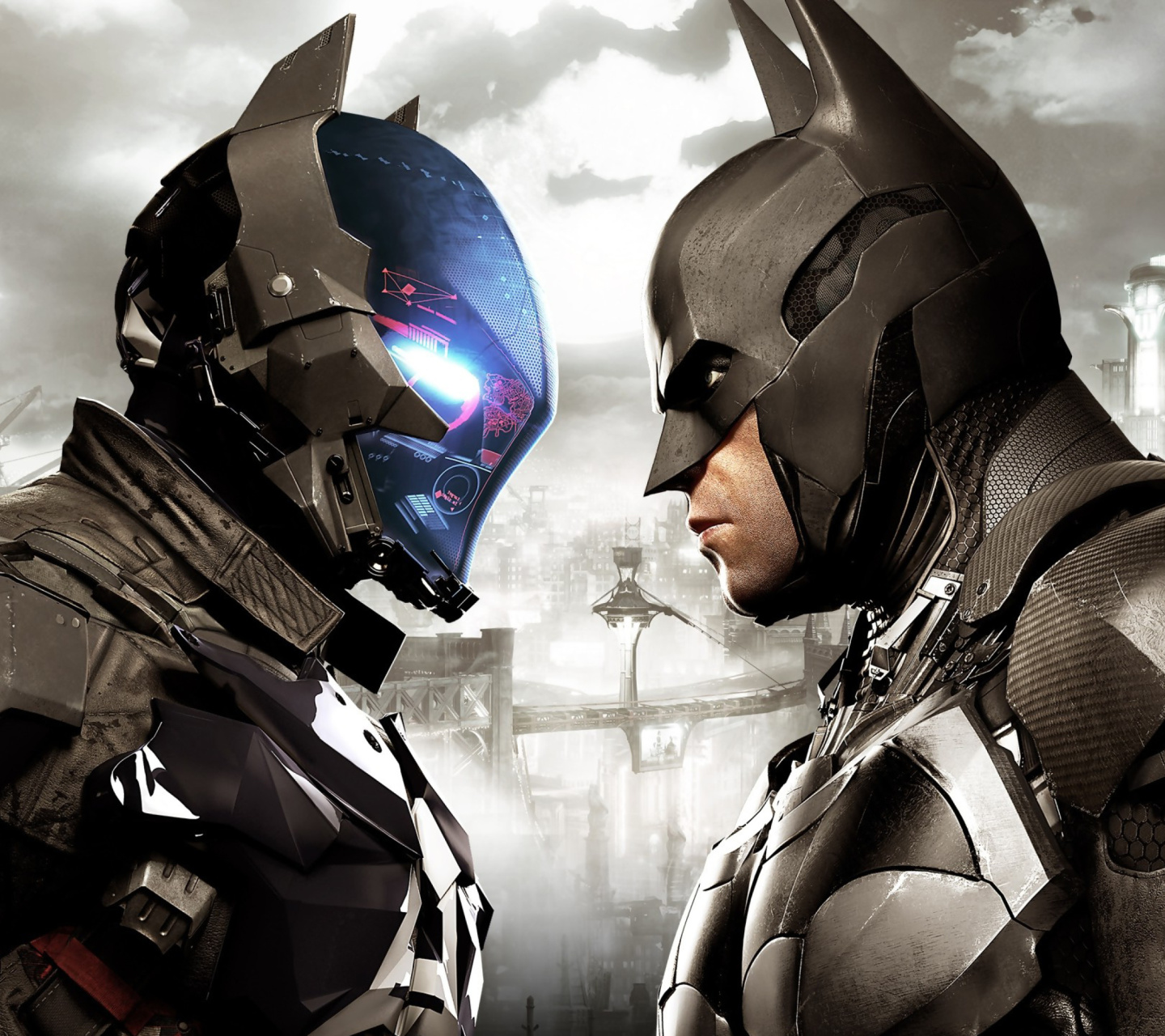 Screenshot №1 pro téma Batman Arkham Knight 1440x1280