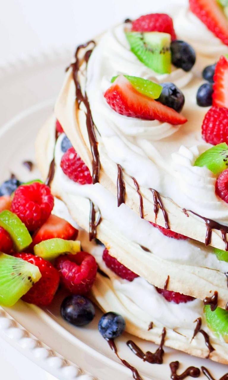 Sfondi Fruit cake 768x1280