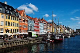 Copenhagen Denmark Wallpaper Background for Android, iPhone and iPad