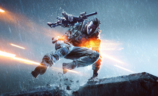 Battlefield 4 Soldier Wallpaper for Android, iPhone and iPad